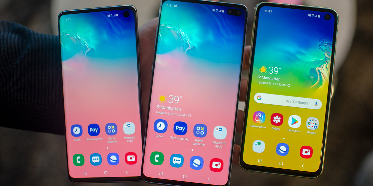 The Galaxy S10 range is getting some of the Note 10's best new features