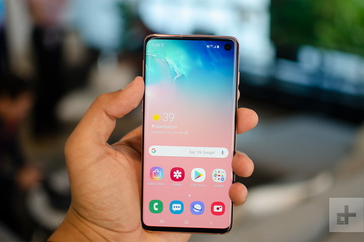The Samsung Galaxy S10 is discounted on Amazon for $100 less