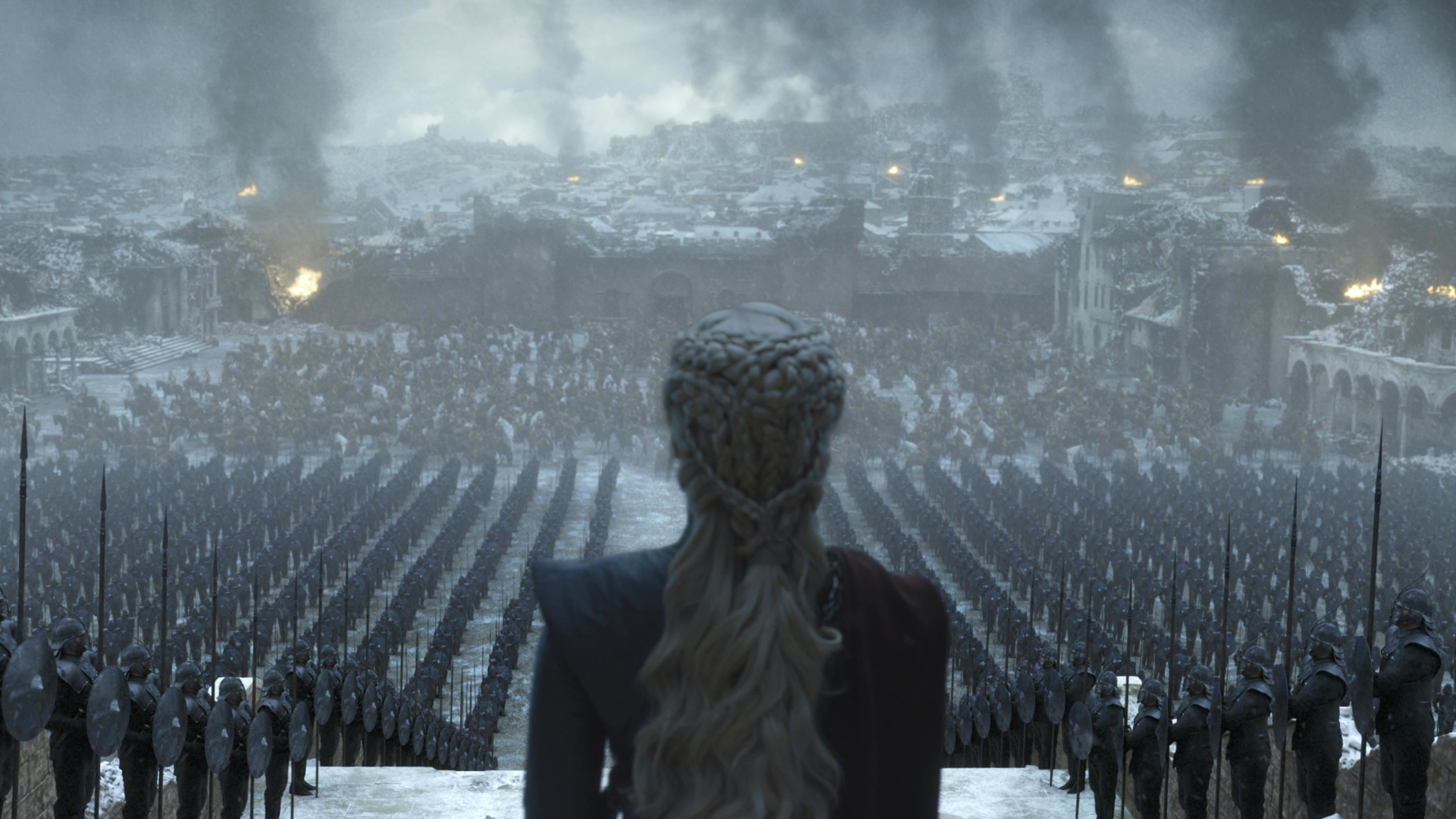 Hbo Releases Photos For Game Of Thrones Final Episode