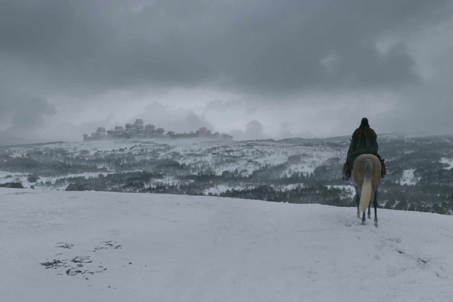 How VFX Brought Winter To Game of Thrones And Gave Arya Her