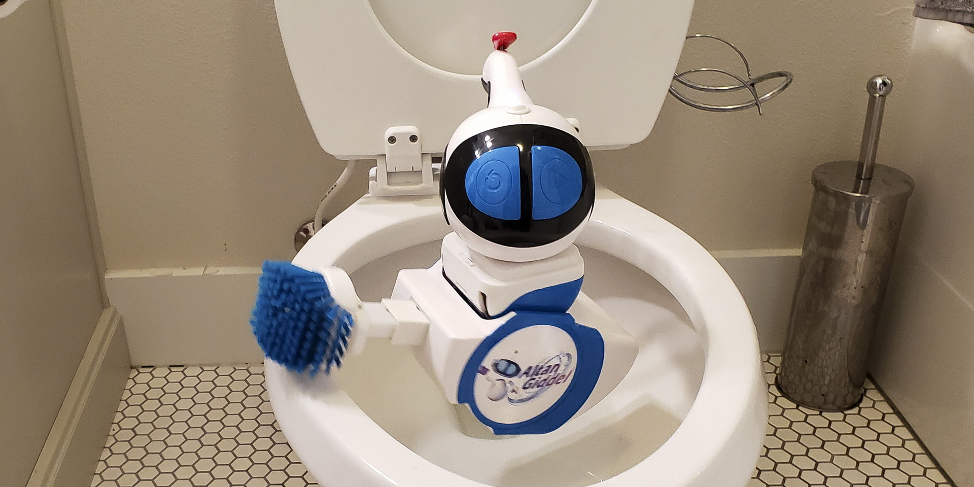 Do We Really Need A Toilet-Cleaning Robot? I Took It For A