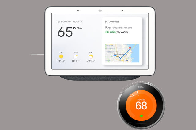 walmart drops prices on google home hub with nest thermostat and security camera assistant learning 01