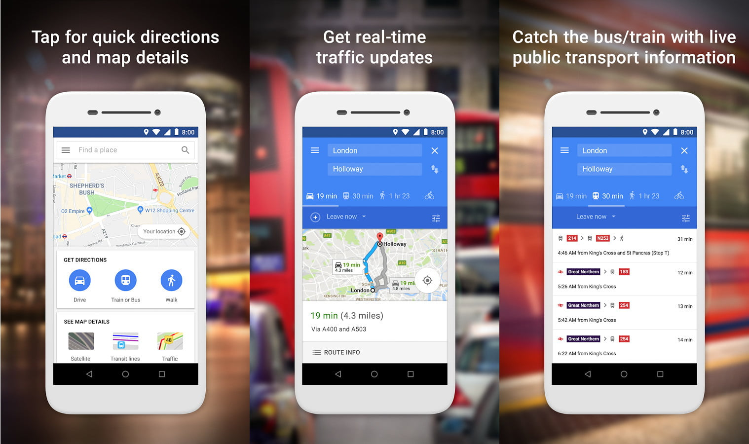 Google Launches Maps Go For Low-End Android Devices