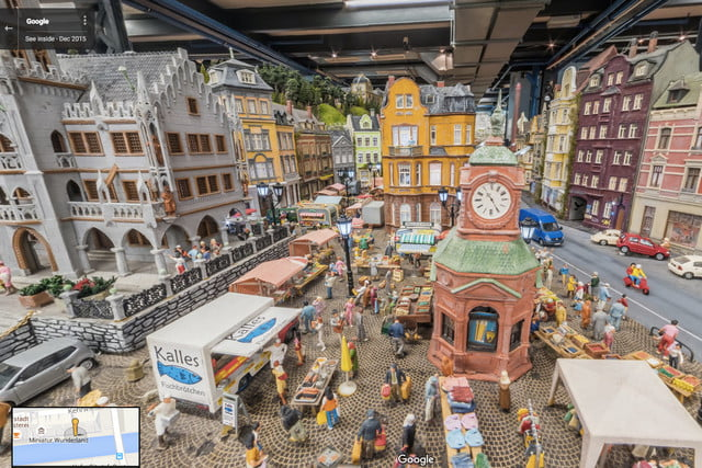 google street view miniatur wunderland video news mini tilt shift 5