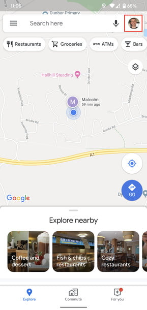 how to use google maps incognito 1