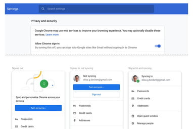 Chrome 70 Is Available, and It Doesn't Auto Login Users to
