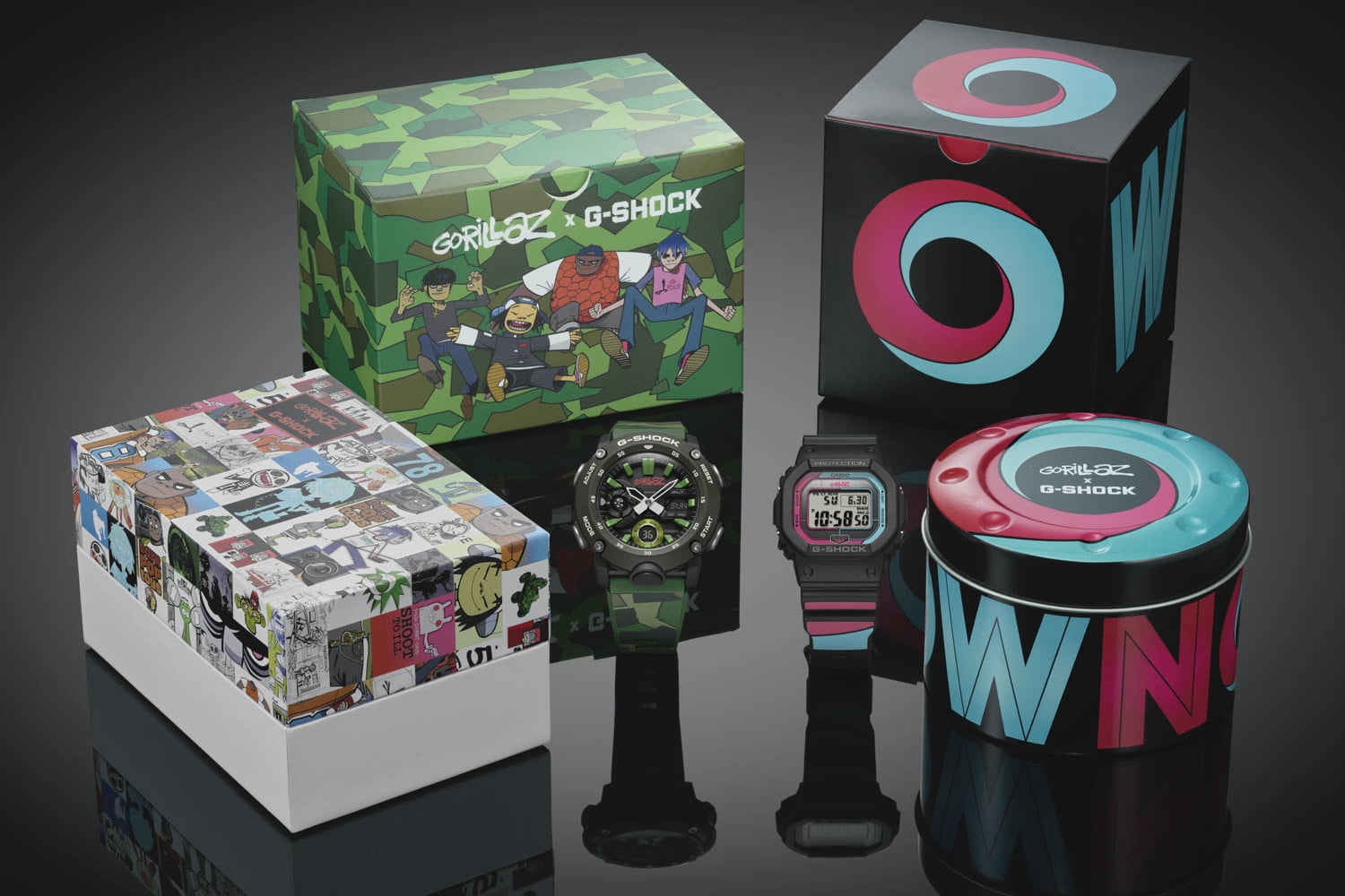 Awesome new Gorillaz and G-Shock limited-edition watch gets Bluetooth tech twist