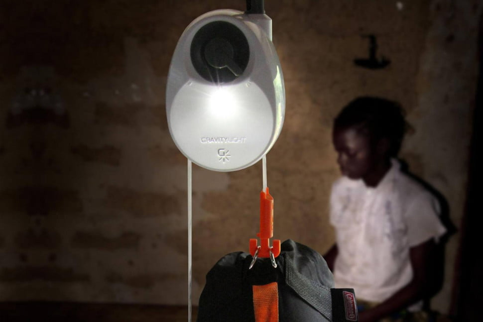 gravity light 2 indiegogo  made in africa