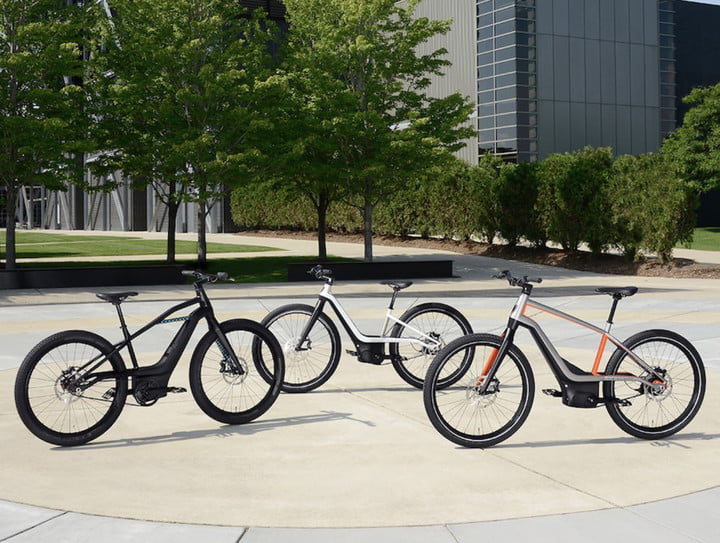 Here's your first look at Harley-Davidson's new line of ebikes