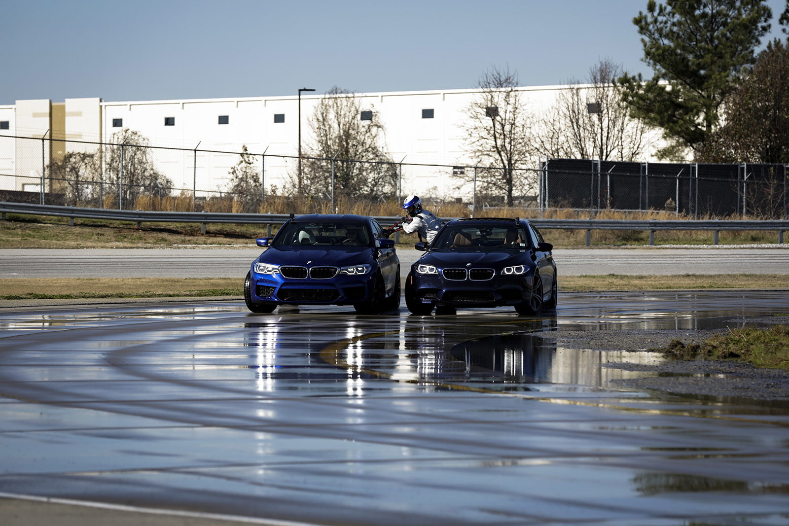 BMW sets two Guinness World Records, drifting sideways for 232.5 miles