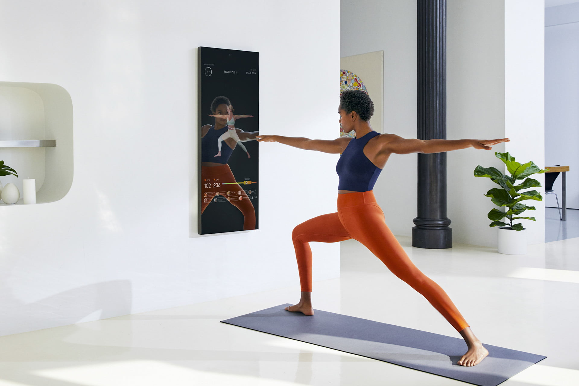 Forget the gym. Mirror brings one-on-one personal training to your living room