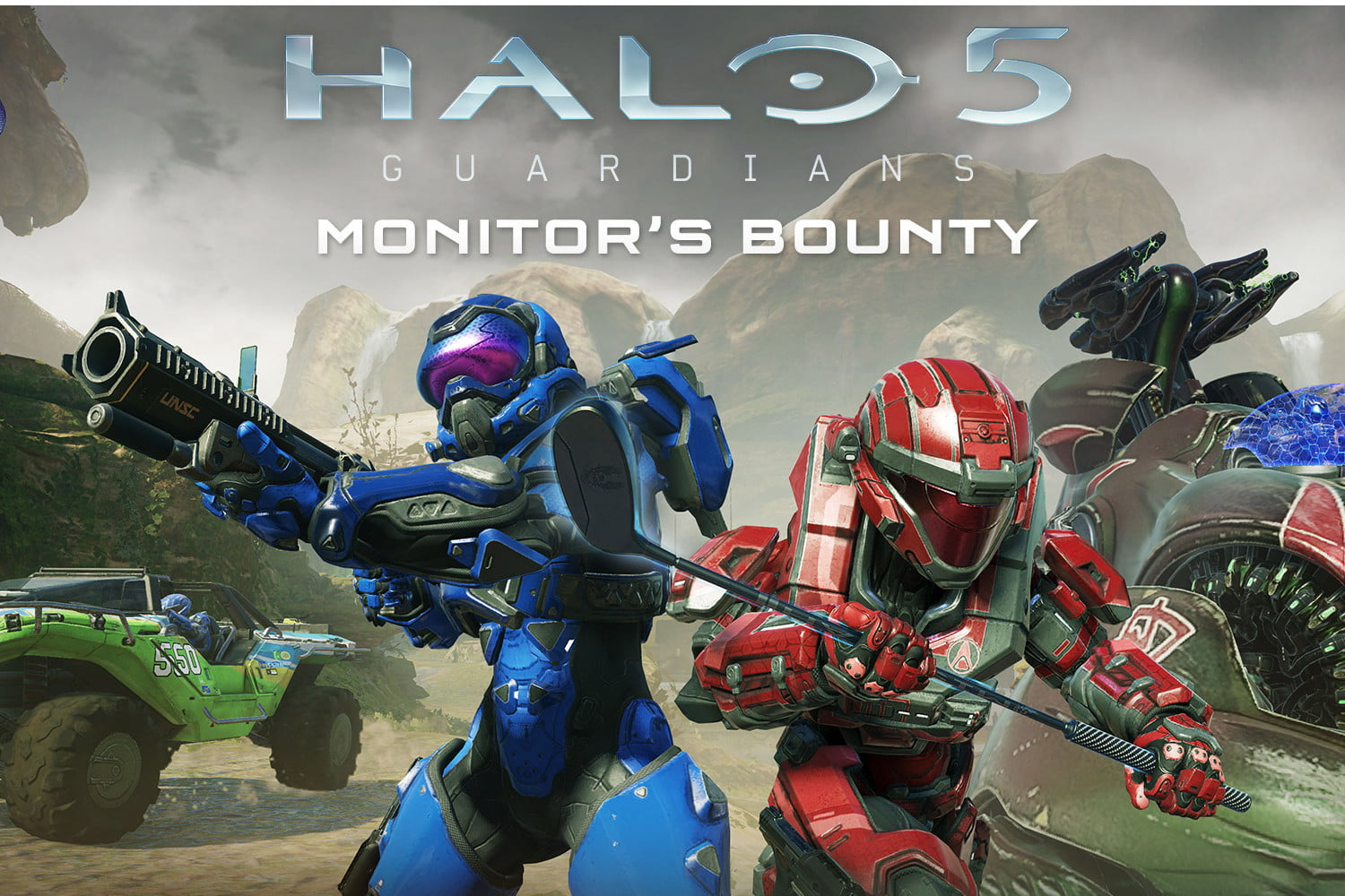 Halo 5: Forge' on PC Gets Arena, Monitor's Bounty Thursday