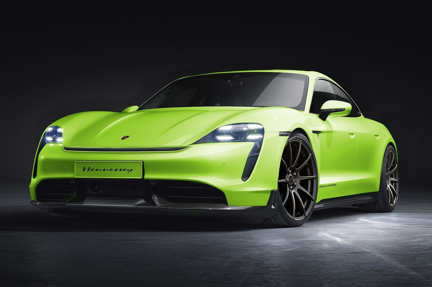 The Porsche Taycan is the first EV tuner Hennessey is putting its hands into