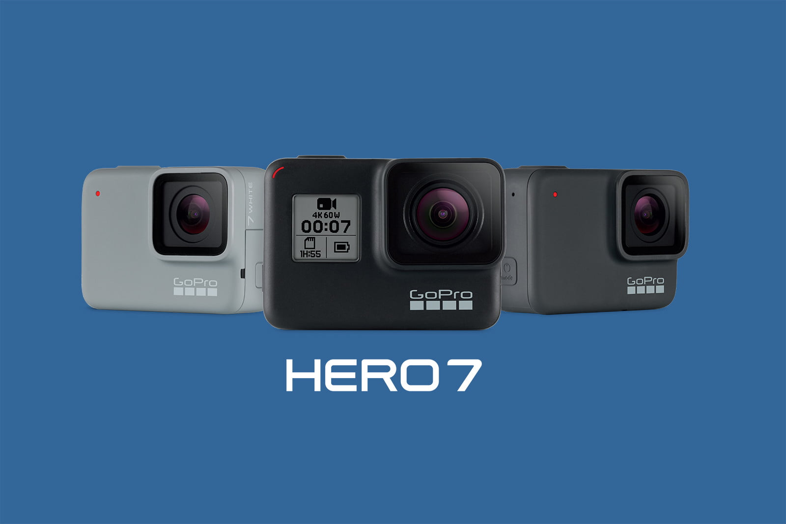 Get the GoPro Hero7 for under $200 from Amazon and Walmart