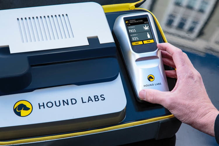 On your mark. Get set. Blow: The race to build a breathalyzer for weed