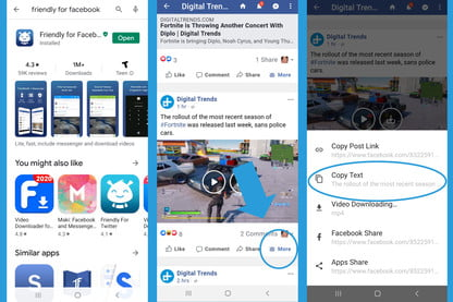 How To Download A Video From Facebook Digital Trends
