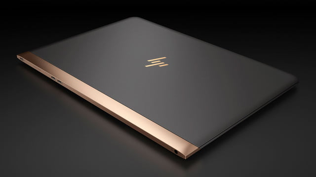 hp spectre laptop 13 3 aerial view