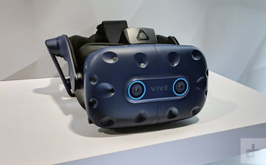 HTC Vive Pro Eye hands-on review: The future of VR | CES