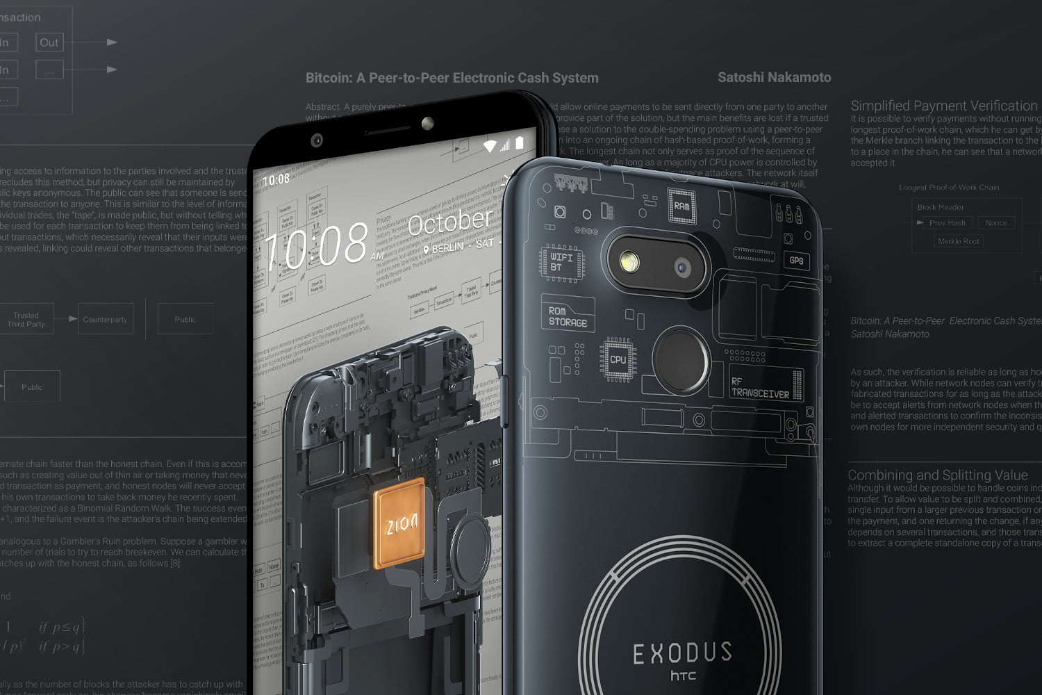 The affordable HTC Exodus 1s puts a full Bitcoin node in your pocket
