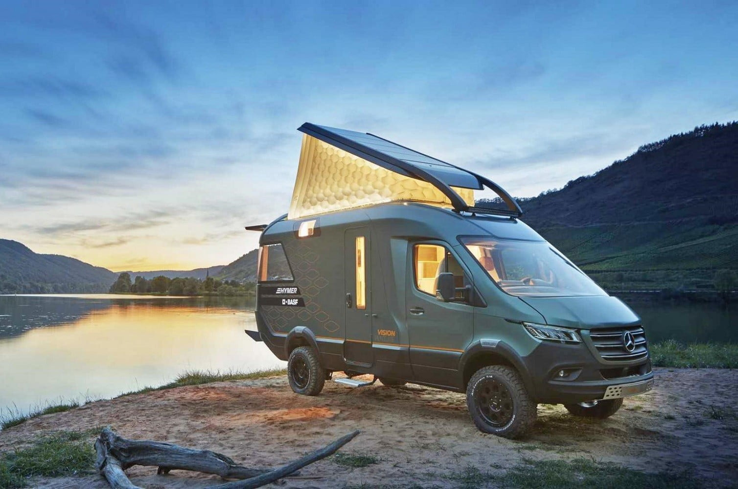 Take a peek at what the adventure-ready camper van of 2025 looks like