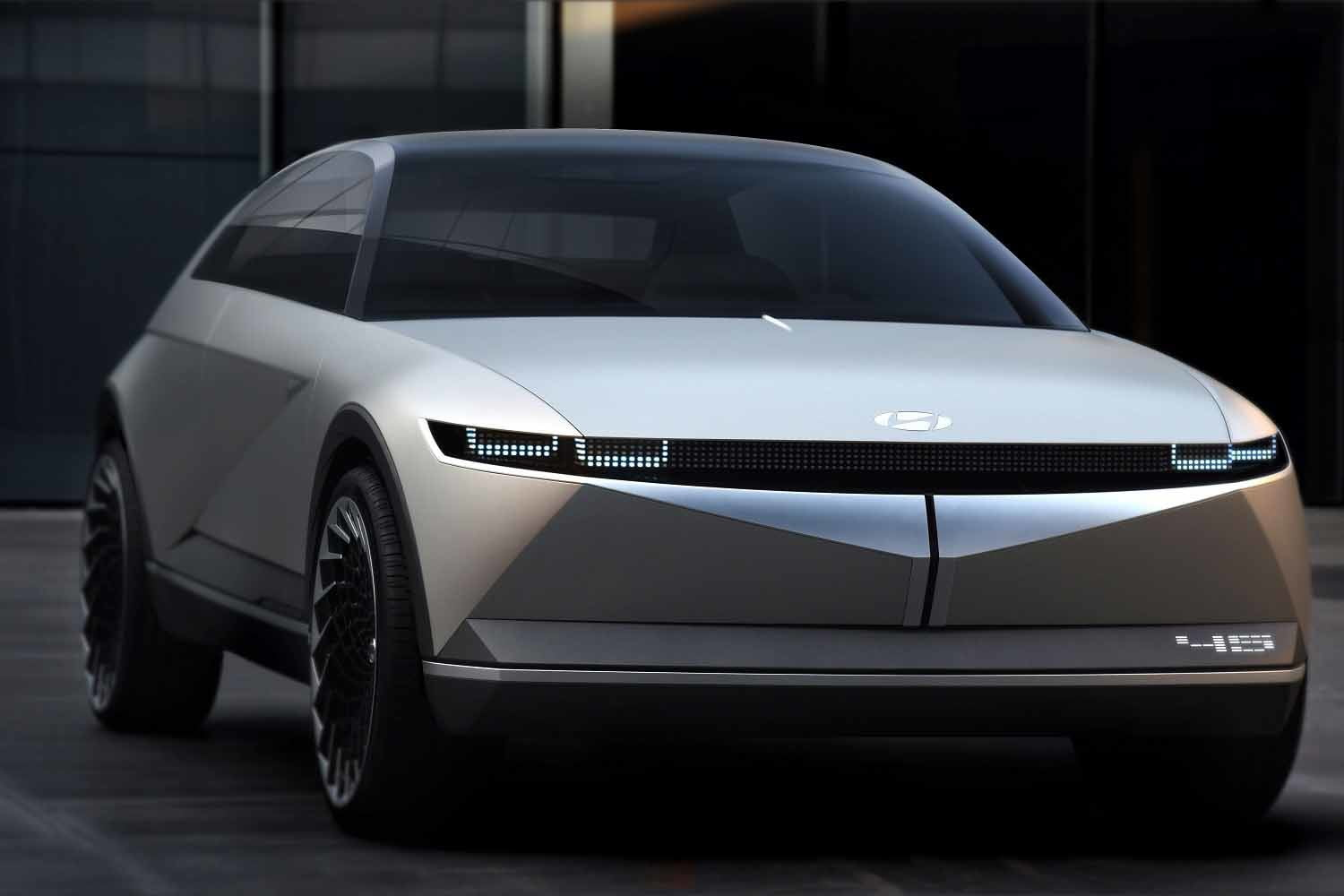 The Hyundai 45 is a heritage-laced, forward-thinking concept car