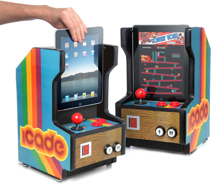 Hands On With The ICade Arcade Cabinet For IPad