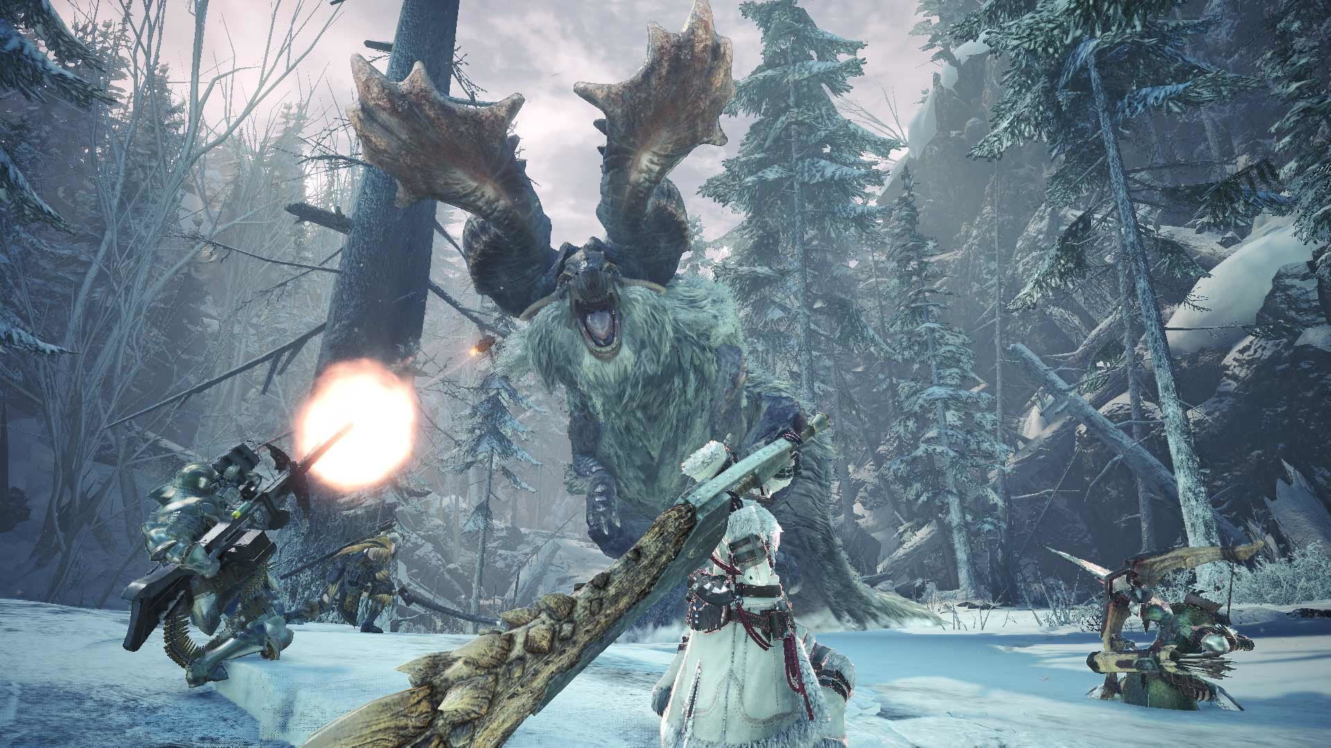 Monster Hunter World Iceborne Monsters Release Date And More