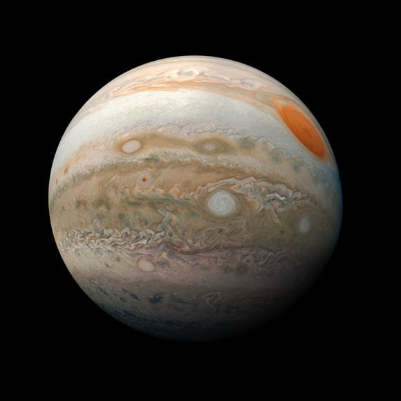 Jupiter's recently discovered moons have been named by the public