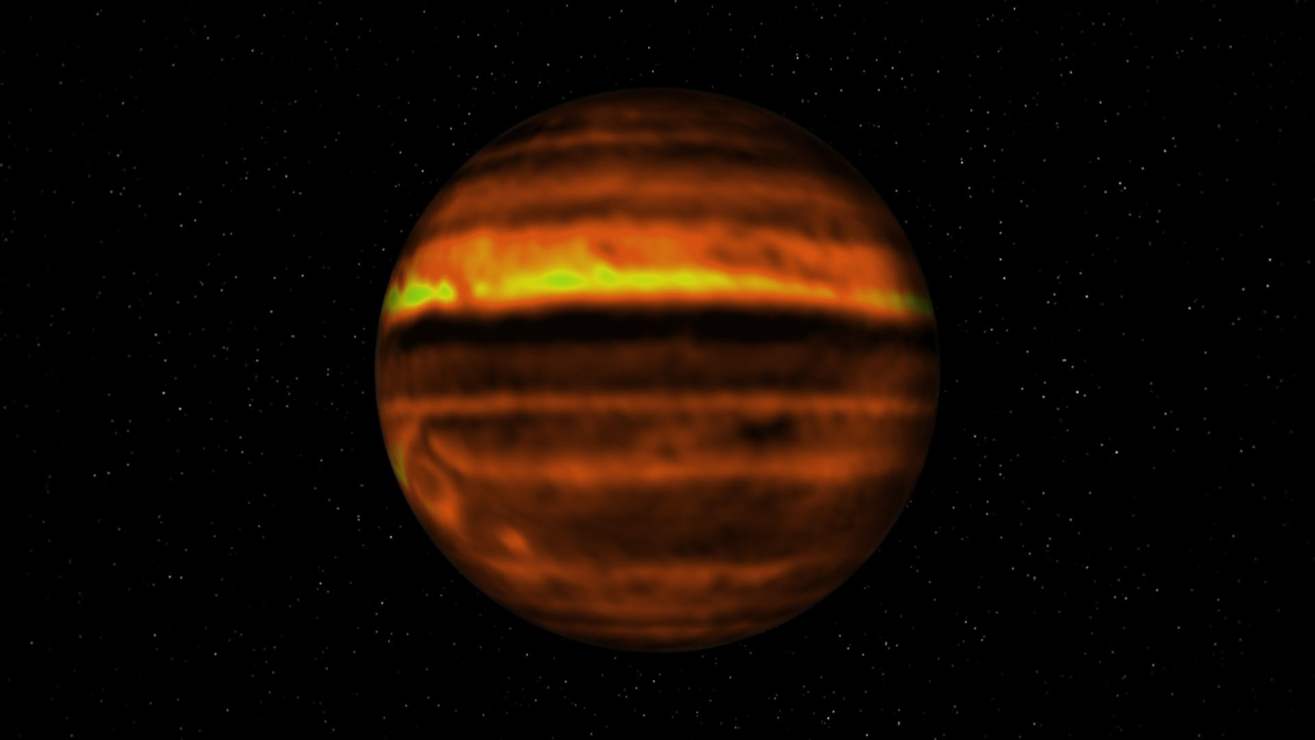 Storms on Jupiter throw up ammonia from deep inside its atmosphere