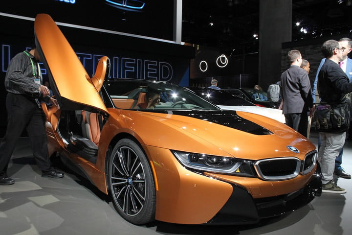2019 bmw i8 roadster news specs performance price pictures at the la auto show