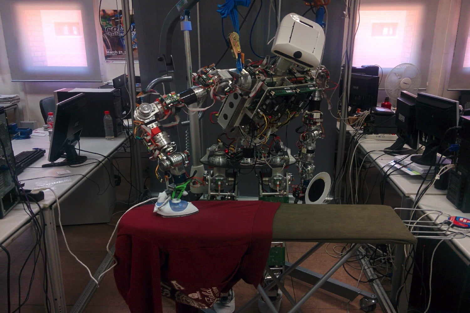 Ironing robot is here to steal the job you never wanted anyway