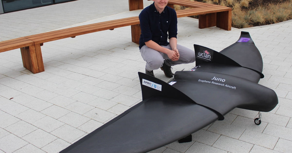 Engineers in the U.K. unveil the world's first graphene-skinned airplane