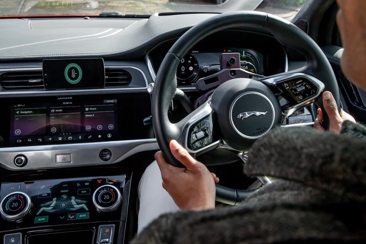 Jaguar Land Rover >> Jaguar Land Rover A I Equipped Car Responds To The Driver S Mood