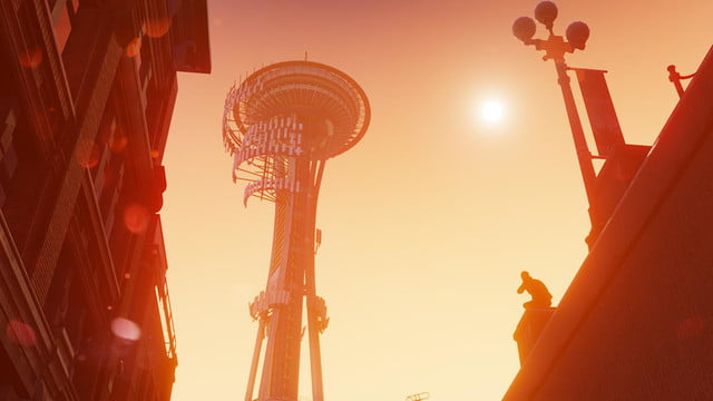Infamous Second Son Needle Sunset_1382631513