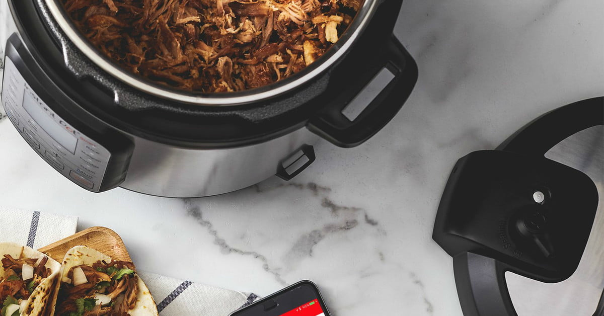 Amazon cooks up to $55 discount on the Instant Pot Smart Wi-Fi and Ultra models