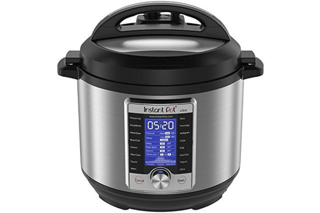 walmart cuts price on instant pot ultra 6 quart 10 in 1 multi use cooker qt programmable pressure