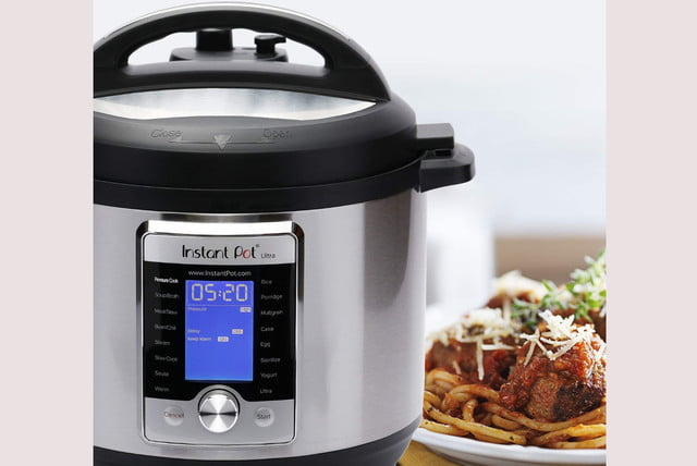 amazon slices 50 off instant pot ultra and ninja foodi pressure cooker prices 8 qt 5  1