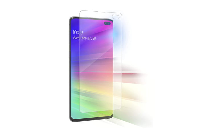 InvisibleShield Ultra VisionGuard Screen Protector for Samsung Galaxy S10+
