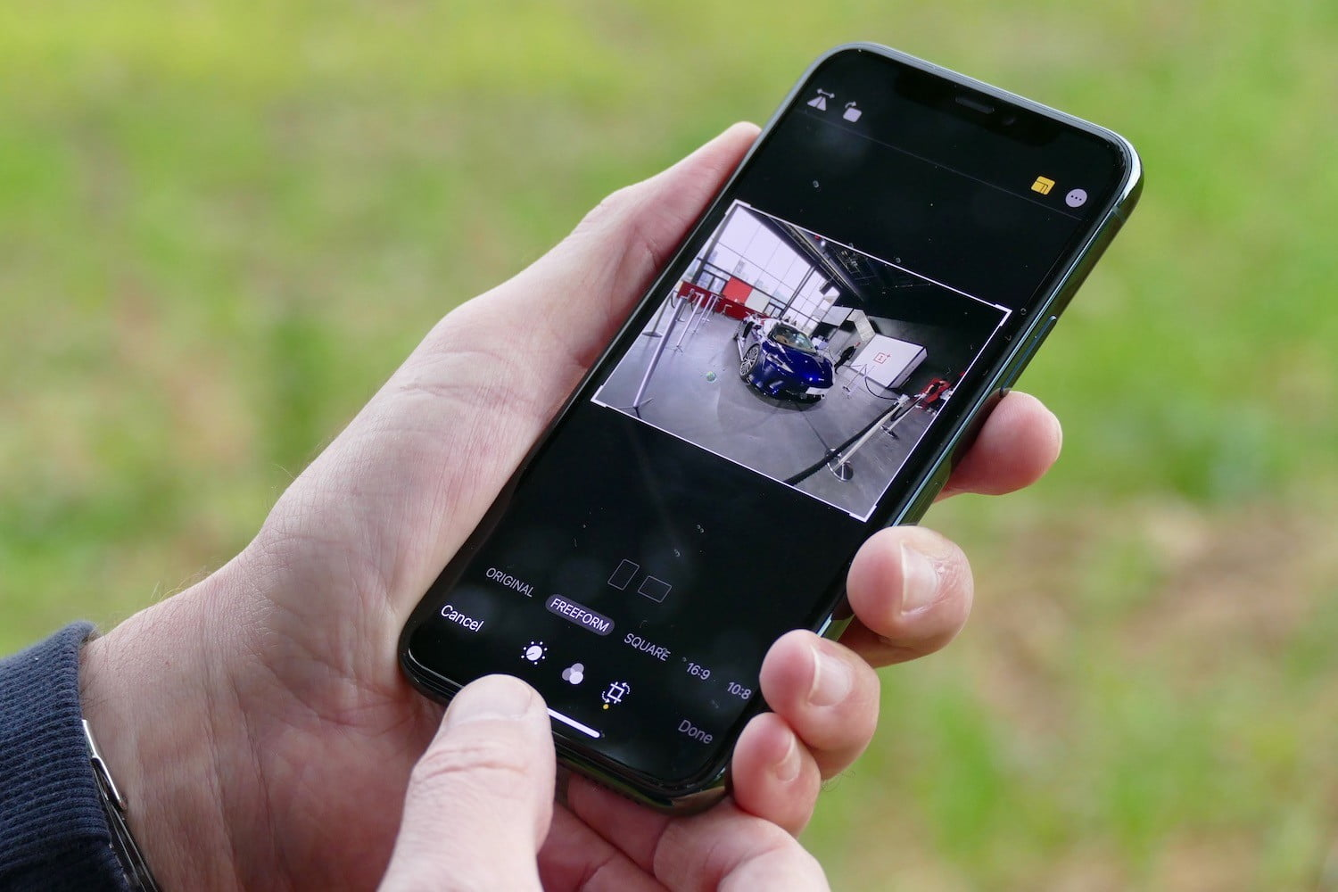 How to crop a video on an iPhone