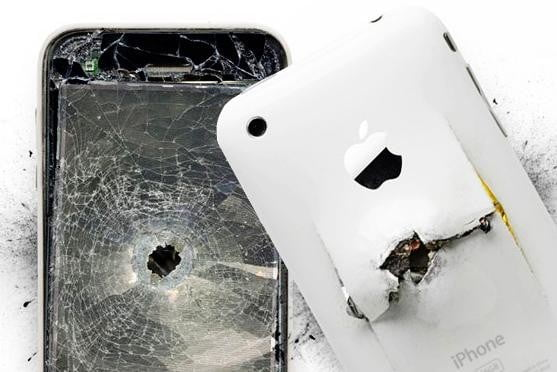 7 Smartphones that have Stopped Bullets (literally