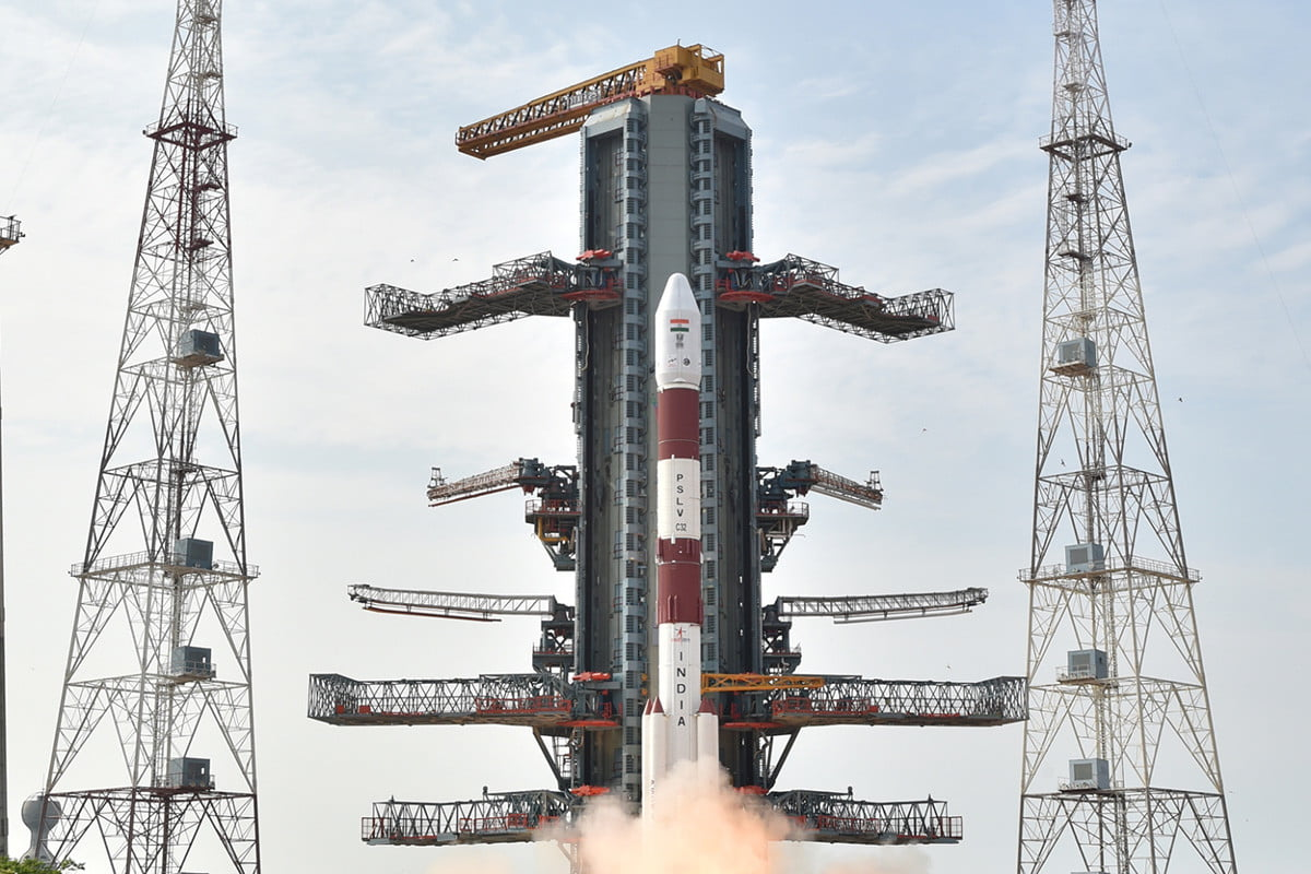 India aims for a record by launching 22 satellites on a single rocket