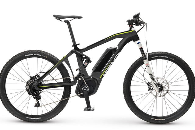 iZip Tempts Mountain Bikers With Full-Suspension Ebike