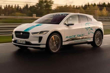 Take an electric ride around the Nurburgring for $164 with Jaguar
