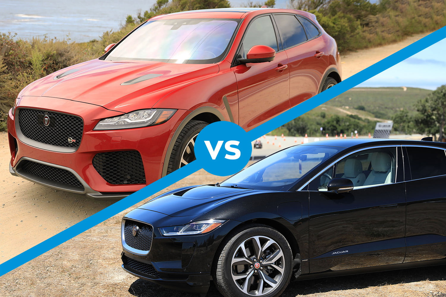 800 miles in an F-Pace SVR and 8 miles in an I-Pace shows Jaguar's split personality