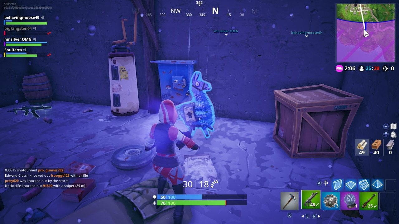 Fortnite 'Search Jigsaw Puzzle Pieces in Basements