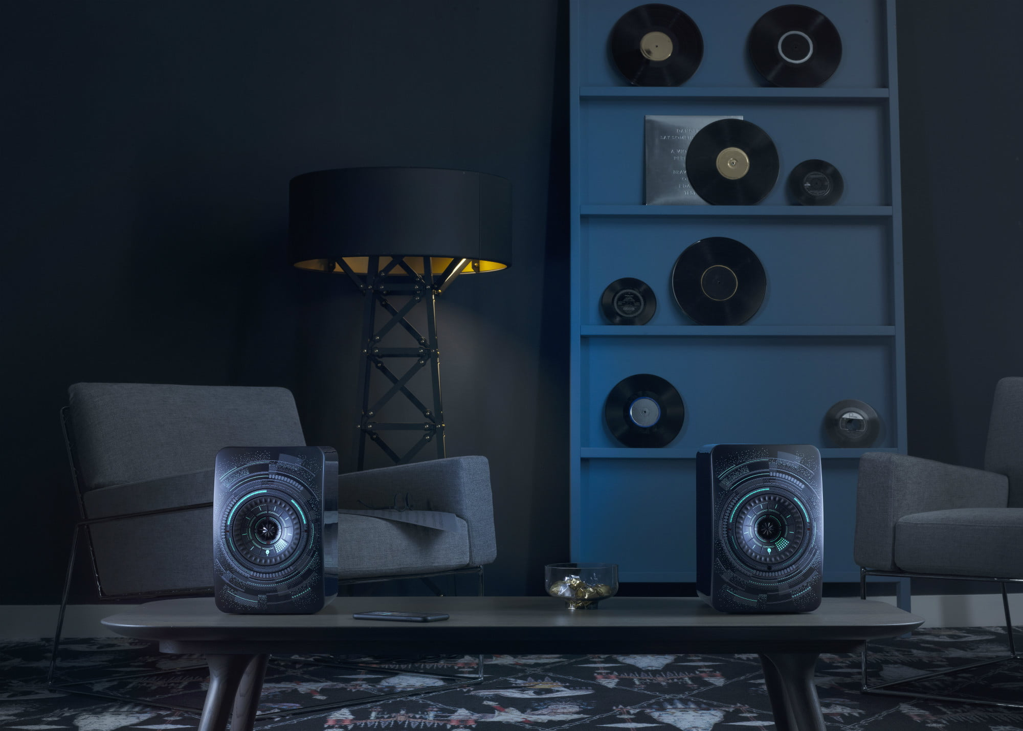 KEF's New LS50W Nocturne Special Edition Speakers are