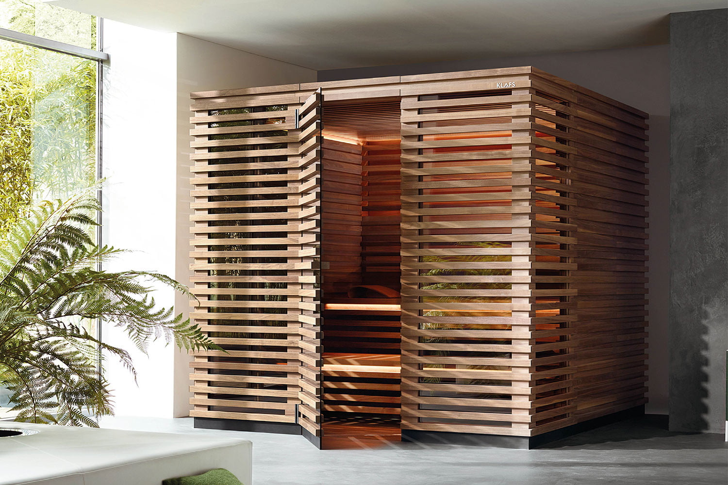 Klafs S1 Sauna Is Meant To Fit In Apartments Digital Trends