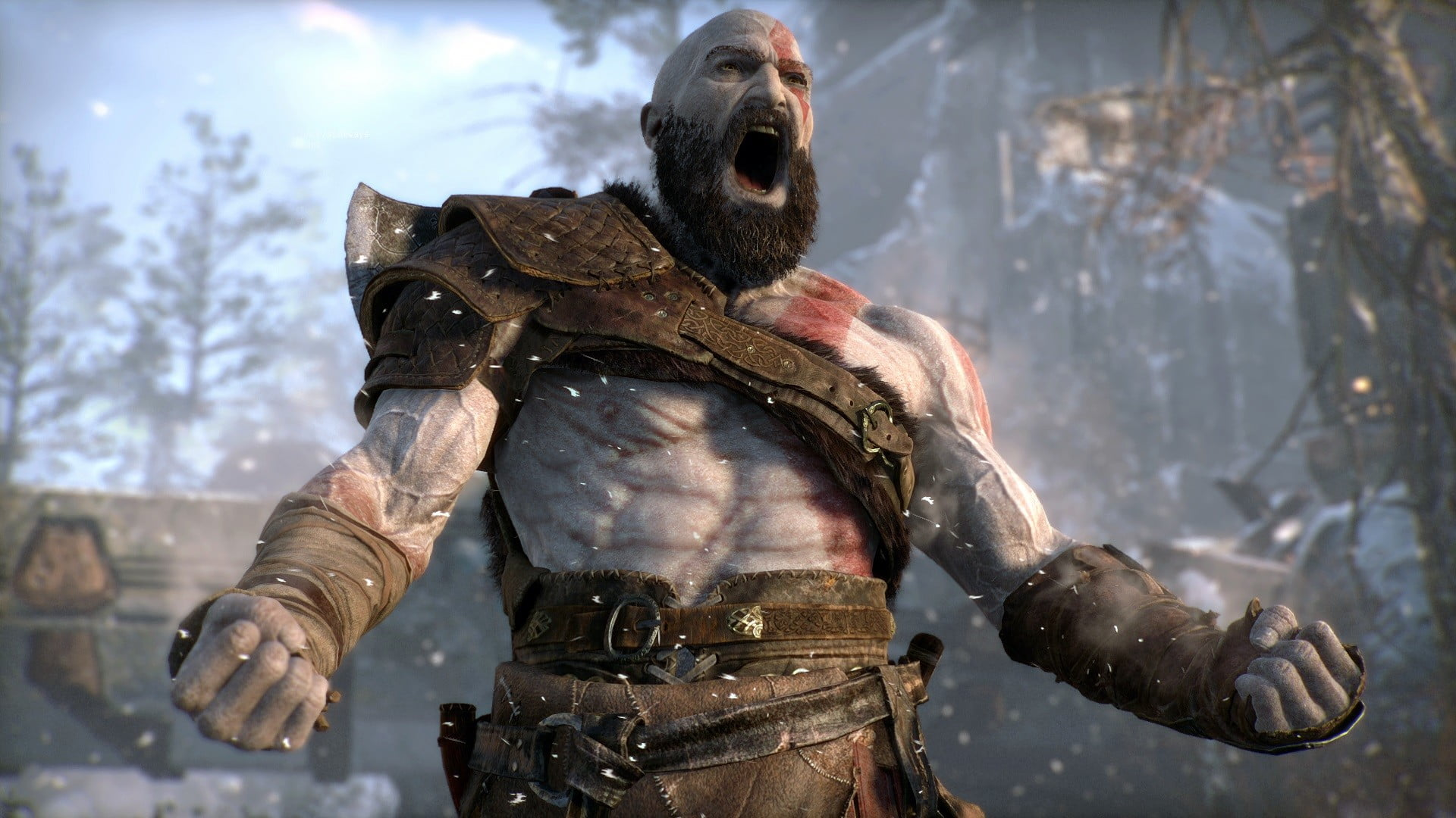 Kratos Shows Sense Of Humor With God Of War Update S Photo Mode