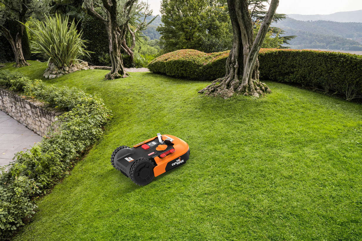 Let the Landroid M robot lawnmower do your yardwork for you