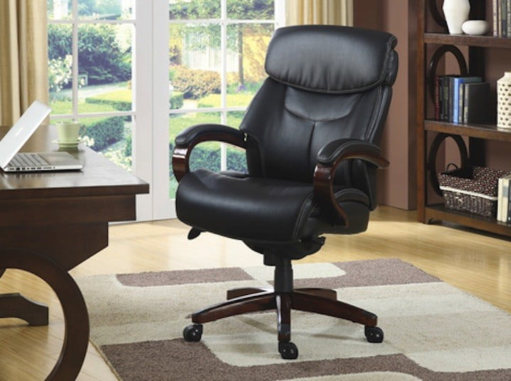 This Leather Office Chair Is 110 Off At Staples Right Now Digital Trends
